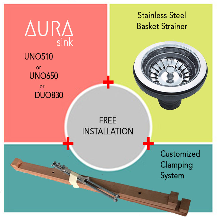 Sink renovationpackage includes
