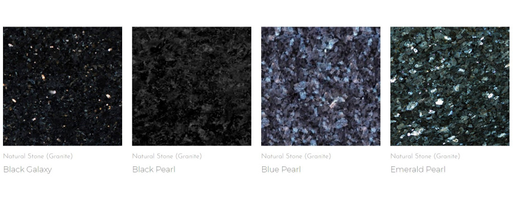 Granite designs from Aurastone