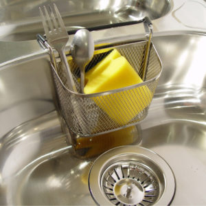 Stainless Steel Kitchen Sink Caddy