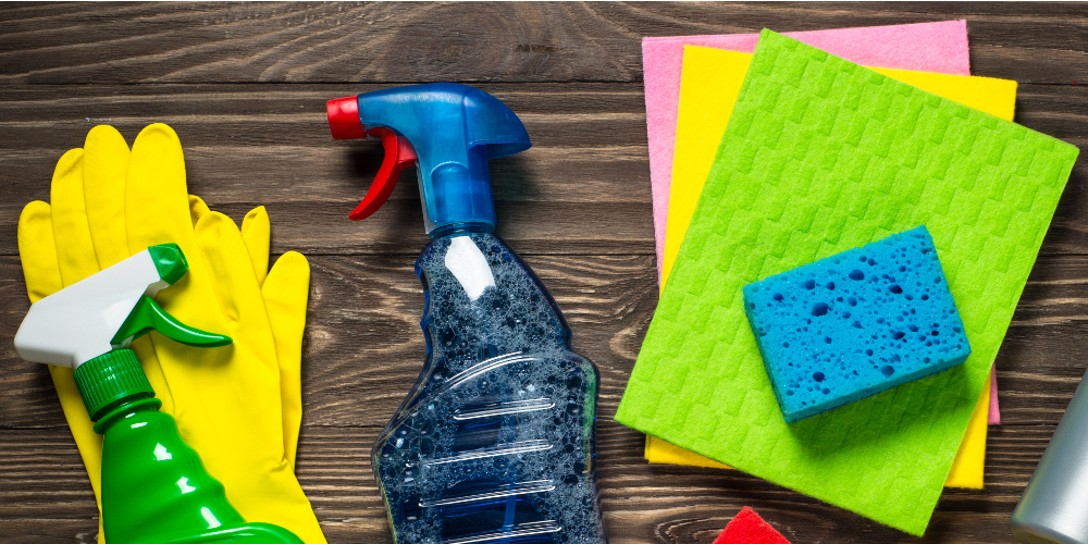 cleaning essentials for new home