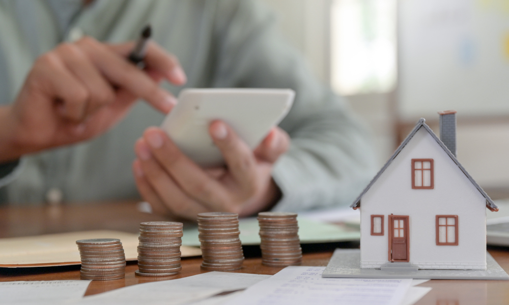 Calculating savings and financial position to buy a house