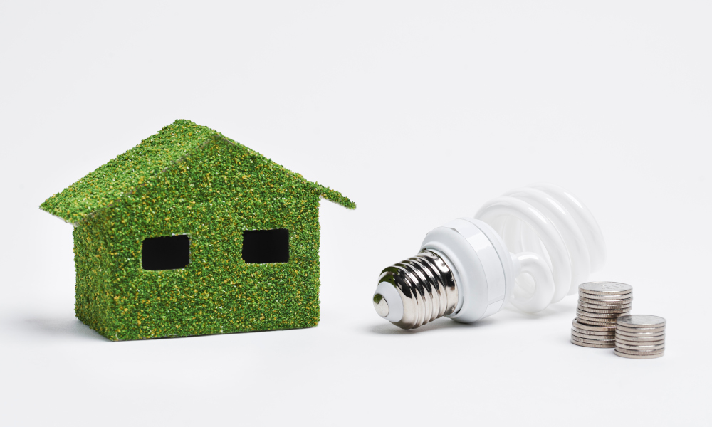Energy efficient LED for a green home
